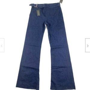 Ralph Lauren Jeans The 878 Waist Buckle Wide Leg